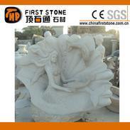 花岗岩美人鱼石雕GGP206
