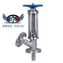 气动上展式放料阀-可选择304或WCB材质-RKFM儒柯品牌