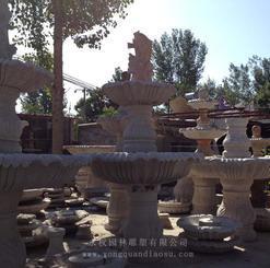 喷泉雕塑图片 石雕喷泉设计