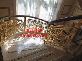 纯情多彩别墅楼梯护栏丰满屏风订制加工