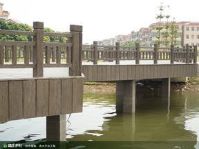 栏杆,仿木栏杆,亲水平台,河道整治,景观绿化