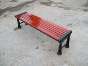 陕西塑木休闲椅,陕西木塑公园园林椅生产厂家