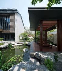 深圳别墅庭院设计,规范的工程管理-五行园林
