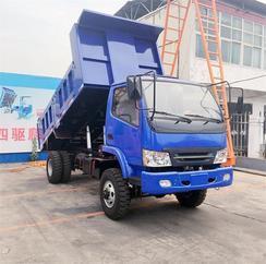 厂家生产四驱农用拉毛竹专用车 雨季上山拉毛竹运输翻斗自卸车