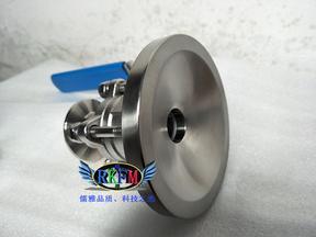 全不锈钢气动放料阀-304气动头(全新防腐型)