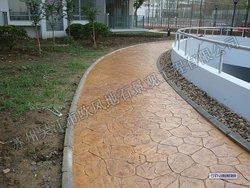 艺术地坪、压模地坪、透水混凝土