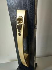 原装进口MIWA美和进户门防盗锁推拉式门锁U9PGF714W-1