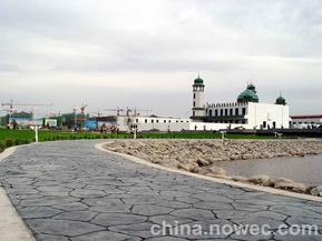 上海彩色压模地坪,上海压花地坪价格最好