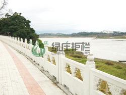 仿石护栏,河堤护栏,水利工程,河道整治
