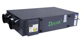 Dpurat德普莱太家用新风系统吊顶PM2.5净化直流全热交换器AHE-25WB/DP新风换气机