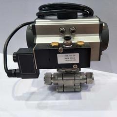 电动高压三通球阀-电动高压内螺纹球阀