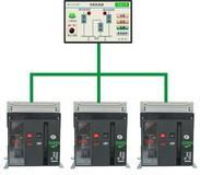 BQ6A触摸屏母联控制器 框架式双电源控制器