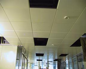 售楼中心机房装修工程铝天花吊顶