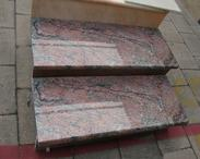 红色花岗岩楼梯板GCPR844