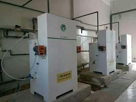 二氧化氯发生器WJ-3000在城镇污水厂中的应用解读