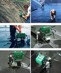 高强度双焊缝土工膜爬焊机