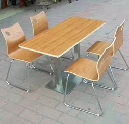 弯木餐桌椅,广东鸿美佳餐桌椅供应