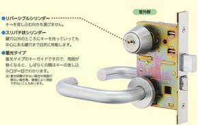 日本MIWA门锁酒店感应锁磁卡锁执手锁球形锁