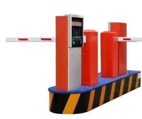 小区及停车场收费管理用的道闸挡车杆票箱