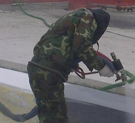 混凝土屋面聚脲施工
