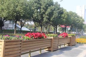 汉中道路绿化花箱生产厂家在哪?市政街道花箱厂家