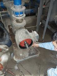 川源水泵 更换轴承漏水维修