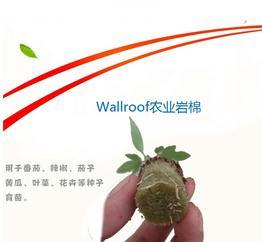 Wallroof农业岩棉/农业多孔纤维棉/无土栽培基质农业岩棉