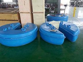 FJB浮筒式潜水搅拌机,玻璃钢浮筒