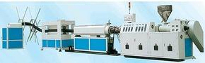 PE碳素螺旋波纹管机器生产线