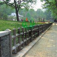 仿木,仿木栅栏,园林绿化,绿化护栏,隔离护栏