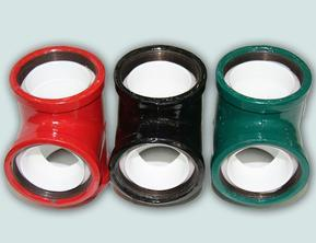 上海德士牌内外涂环氧复合钢管/内外涂塑钢管管件/弯头/三通