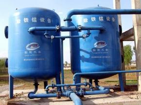 黑龙江哈尔滨地下水处理设备井水除铁锰过滤设备