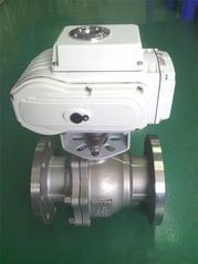 精小型电动执行器角球阀