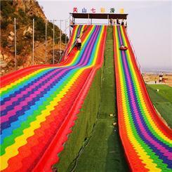 景区彩虹滑道铺设一米多少钱