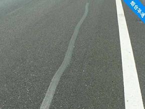 辽宁葫芦岛沥青贴缝带道路抗裂效果达5年