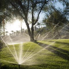 草坪喷灌工程设计施工