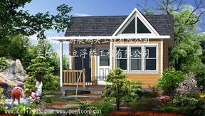 户外木屋、木质结构房屋