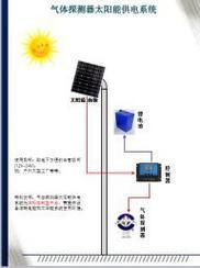 气体探测器太阳能供电系统