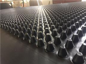 浙江省衢州市40公分高车库绿化排水板