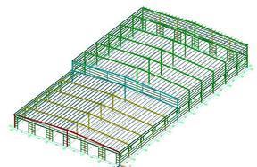 同磊厂房结构