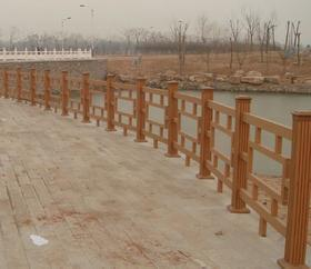 山西太原木塑栏杆厂家,四川成都花架廊亭销售供应商