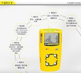 8203;GasAlertMicroClipXT便携式复合气体报警仪