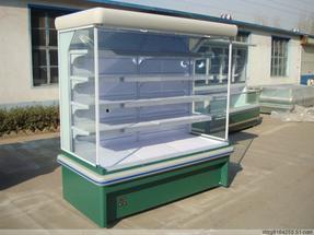 立式冷藏展示柜|新款式冷柜|镜面风幕柜