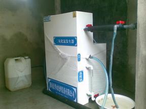 �t院污水一�消毒�O��|�t���U水二�生化�理�b置