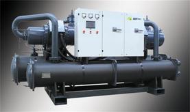 金万众地源热泵维修保养 机组进水维修