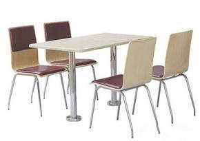 防火板快餐桌椅价格,防火板快餐桌椅厂家