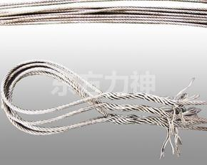 优质插编钢丝绳索具
