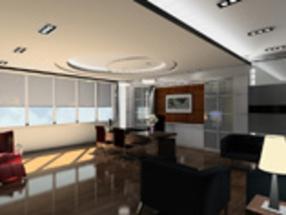 石家庄总经理办公室装修设计