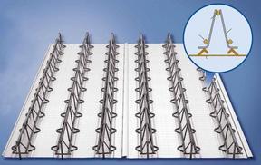 大跨度楼承板钢筋桁架楼承板TD2-90价格优惠力度大