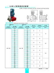 3JW-C高压往复泵-晶鑫泵业